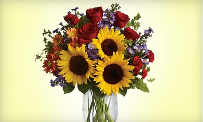 Doherty's Flowers - River Bend: Floral-Arranging Class or Flowers, Plants, and Gifts at Doherty's Flowers. Three Options Available.