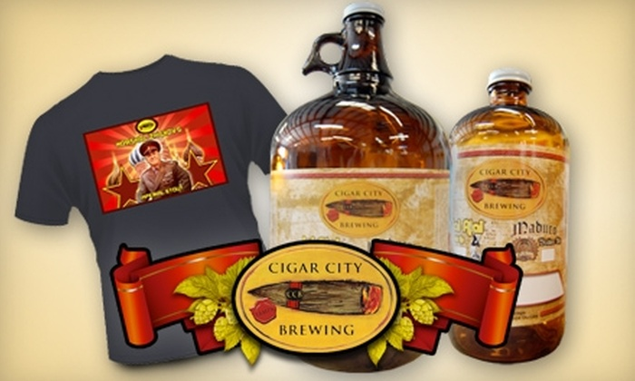 Cigar City Brewing - Carver City/Lincoln Gardens: $10 for $20 Worth of Beer and Merchandise at Cigar City Brewing