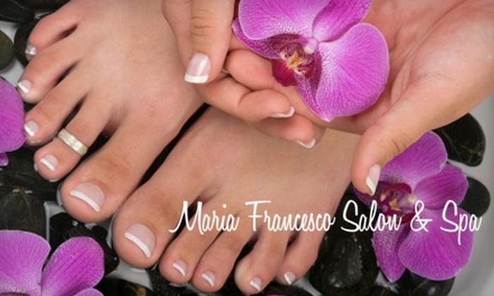 Maria Francesco Salon & Spa - Peabody: Spa Services at Maria Francesco Salon & Spa in Peabody. Choose from Three Options.
