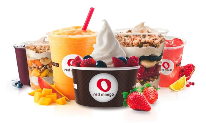 Red Mango - Edmond: Greek Frozen Yogurt, Smoothies, Oatmeal,and Coffeeat Red Mango (Up to Half Off). Three Options Available.