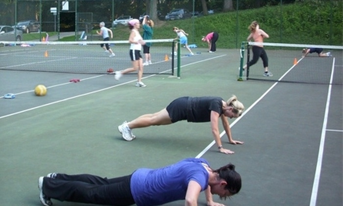 Tony's Personal Training - Multiple Locations: $99 for One Month of Unlimited Women's Group Boot Camp Sessions from Tony's Personal Training ($219 Value)
