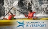 OKC RIVERSPORT - Central Oklahoma City: $20 for a Two-Hour Guided Kayaking Trip from OKC RIVERSPORT (Up to $40 Value)