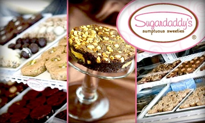 Sugardaddy's Sumptuous Sweeties - Orange: $9 for a Half-Dozen Brownies and Blondies at Sugardaddy's Sumptuous Sweeties ($18 Value)