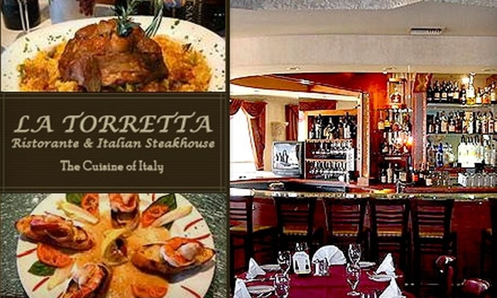 La Torretta Ristorante & Italian Steakhouse - Paradise Valley: $20 for $40 Worth of Cuisine and Drinks at La Torretta Ristorante & Italian Steakhouse