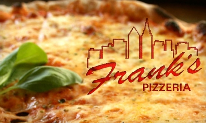 Frank's Pizzeria - West Omaha: $10 for $20 Worth of New York–Style Pizza and Casual Italian-American Fare at Frank's Pizzeria