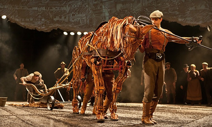 """""""War Horse"""" - Royal Alexandra Theatre: $50 to See """"War Horse"""" at The Princess of Wales Theatre (Up to $137.50 Value). 19 Shows Available."""