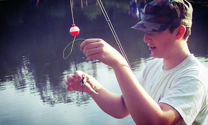 Lake Lane Fishing and Hunting Getaway - Weston Mills: $30 for a Full Day of Fishing for Up to Six at Lake Lane Fishing and Hunting Getaway in Olean (Up to $216 Value)