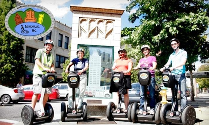Moving Sidewalk Tours - Historic Montford: $32 for a Segway Tour from Moving Sidewalk Tours