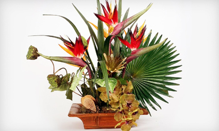 Silk Jungle - Remington Reserve: $49 for $150 Worth of Silk Floral Arrangements and Plants at Silk Jungle