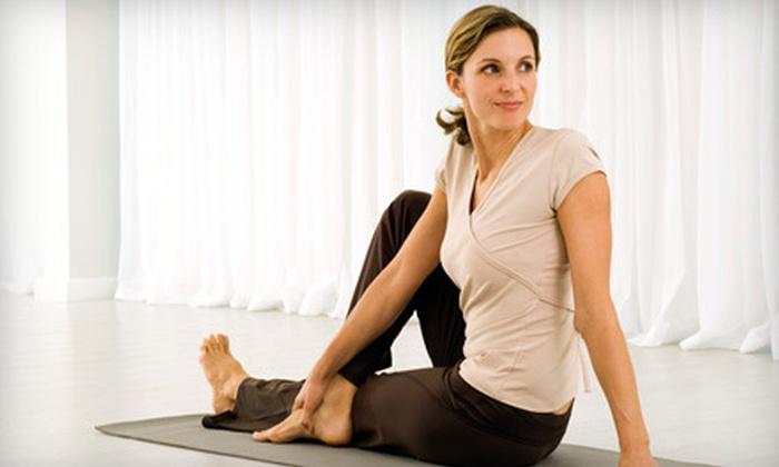Underground Yoga - Huntington Beach: $25 for 20 Yoga or Zumba Classes at Underground Yoga in Huntington Beach ($240 Value)