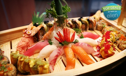 $50 Groupon to Shinto Japanese Steak House & Sushi Bar  - Shinto Japanese Steak House & Sushi Bar  in Naperville