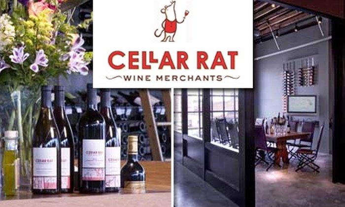 Cellar Rat Wine Merchants  - Crossroads: $20 for a Socially Cultivating Wine Class at Cellar Rat Wine Merchants ($40 Value)