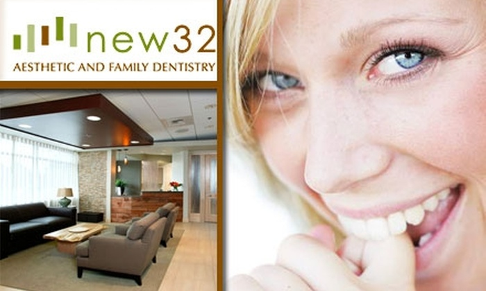 new32 - University District: $62 for a Dental Exam, X-Rays, and Teeth Cleaning at new32 Aesthetic and Family Dentistry