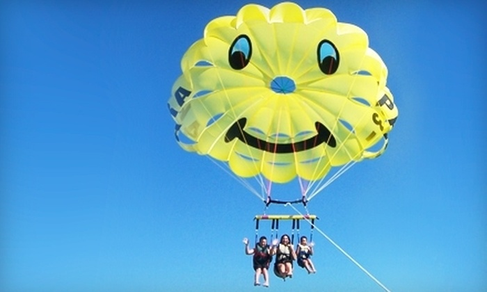 Paradise Parasail  - Fort Myers Beach: $70 for a Tandem Parasail Ride for Two from Paradise Parasail in Fort Myers ($140 Value)