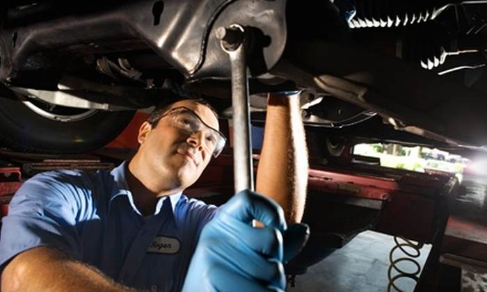 Auto Care Super Saver - Multiple Locations: $31 for a Car Care Package from Auto Care Super Saver ($78 Value). 23 Locations Available.