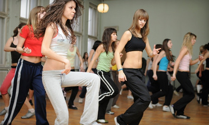 Gold's Gym - Multiple Locations: 20-Class Punch Card for Zumba or Spin Classes at Gold's Gym (61% Off)