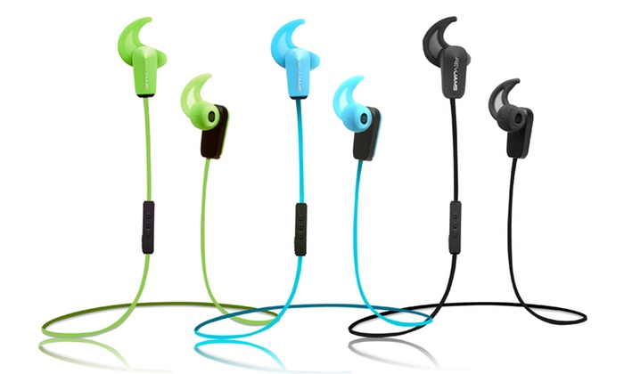 RevJams Sport Bluetooth 4.0 Earbuds with Mic