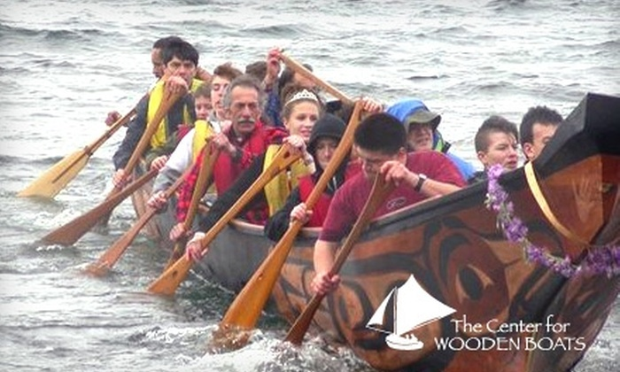 The Center for Wooden Boats - South-Lake Union: $22 for One Hour of Rowing on Lake Union Plus an Annual Membership to the Center for Wooden Boats (Up to $75 Value). Buy Here for a Household Membership. See Below for an Individual Membership.