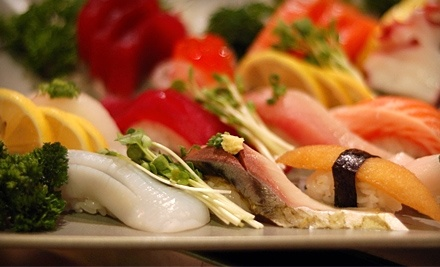 Izumi Japanese Sushi & Grill: $15 Groupon for Lunch - Izumi Japanese Sushi & Grill in West Lake Hills