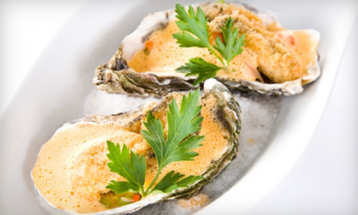 The Oyster Bar and Grille - Cedar Grove, Lynbrook: Oysters, Seafood, and Mexican Fare for Dinner or Lunch at The Oyster Bar and Grille