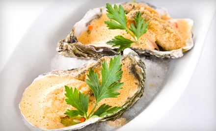 $30 Groupon for Dinner  - The Oyster Bar and Grille in Shreveport