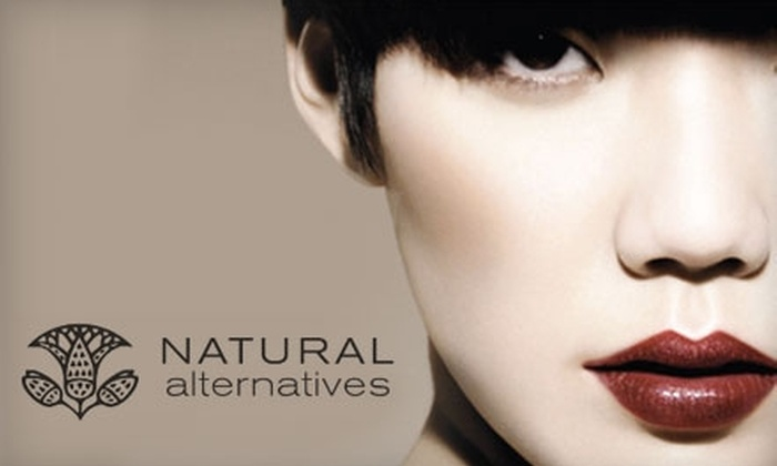 Natural Alternatives - Farragut: $50 for a One-Hour Botanical Skin-Resurfacing Facial and Aveda Fall Makeup Application and Instruction at Natural Alternatives