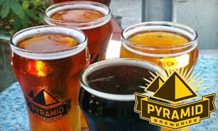 Pyramid Alehouse - Downtown: $15 for $30 Worth of Hearty Pub Fare and Craft Beers at Pyramid Alehouse