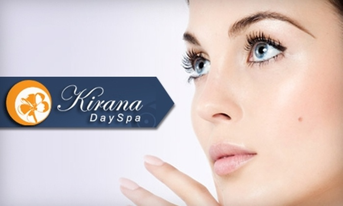 Kirana Day Spa - Bonita: $47 for an Ageless Beauty Facial and Anti-Aging Eye Exfoliation at Kirana Day Spa ($95 Value)