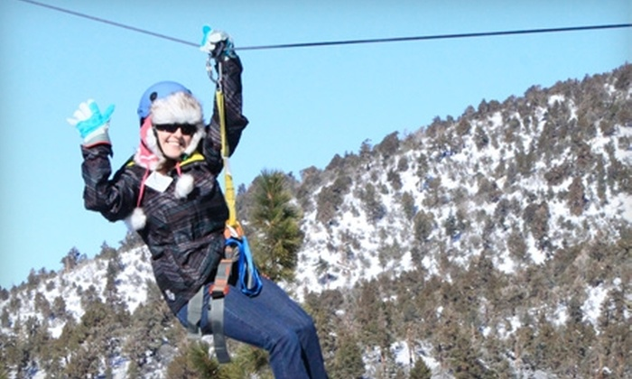Action Zipline Tours - Orange County: $47 for an All-Inclusive Zip-Line Tour at Action Zipline Tours (Up to $95 Value)