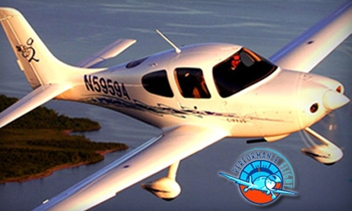 Performance Flight - Harrison: $179 for a One-Hour Experience Flight Lesson Over Westchester County and New York City with Performance Flight ($299 Value)