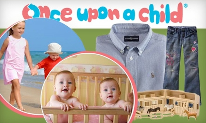 Once Upon A Child - Multiple Locations: $12 for $30 Worth of New and Gently Used Children's Clothing, Furniture, Toys, and More at Once Upon A Child