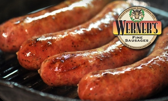 Werner's Specialty Foods - Missionhill Acres: $8 for $16 Worth of Fine Sausages and More at Werner's Specialty Foods in Mission