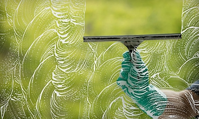 Reflections Window Cleaners - Santa Barbara: $49 for $100 Worth of Window or Gutter Cleaning from Reflections Window Cleaners