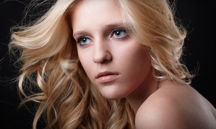 Salon Freeport & Day Spa - Freeport: Hairstyle Package with Haircut, Shampoo, and Style or $49 for $100 Worth of Hair Services at Salon Freeport & Day Spa