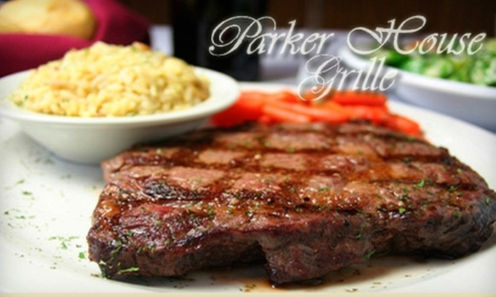 Parker House Grille - Boston: $15 for $30 Worth of Hearty American Cuisine at Parker House Grille in Dracut
