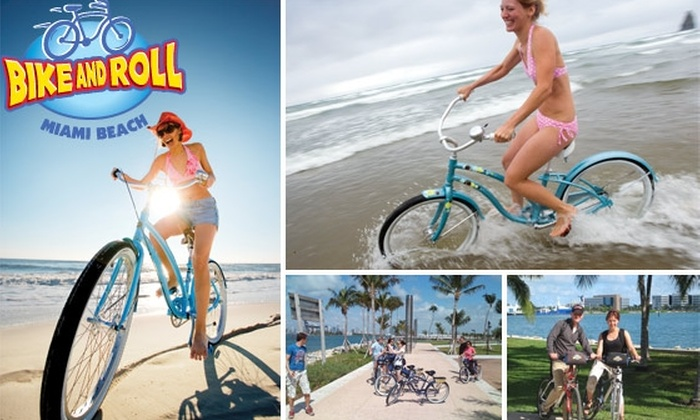 Bike and Roll  - Miami: $17 for Full-Day Bike Rental ($35 Value)