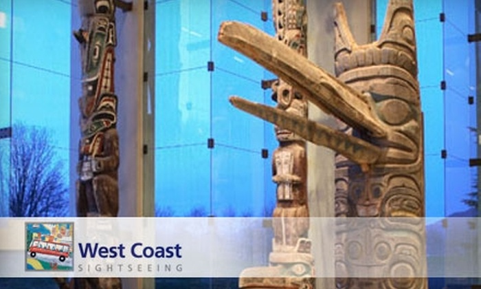 West Coast Sightseeing - Downtown Vancouver: $39 for a Museum of Anthropology & Gardens Tour from West Coast Sightseeing ($84 Value)
