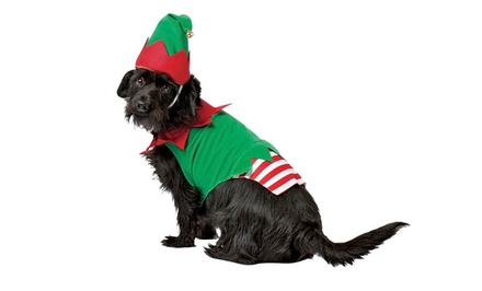 Christmas Elf Dog Costume from $14.99–$16.99