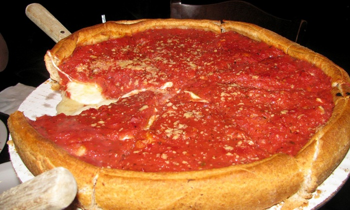Pinocchio's Pizza & Pub - Morton Grove: Pizza and Italian-American Food for Two or Four at Pinocchio's Pizza and Pub (40% Off)
