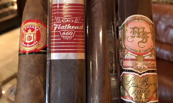 Around The World Cigars - IN-STORE PICKUP: Assorted 5-Pack or a Box of Kuba Kuba Cigars with In-Store Pickup at Around The World Cigars (Up to 40% Off)