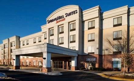 Stay with Market Credit at Annapolis SpringHill Suites in Annapolis, MD; Dates into March Available