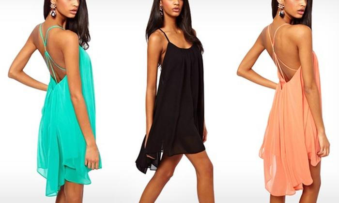 56e13d9ff87 Shopping Robe Robe Courte D été D été Courte Groupon Groupon 4tp0q