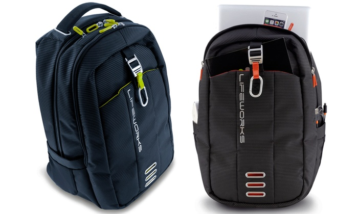 Lifeworks Voyager Laptop and Tablet Backpack | Groupon