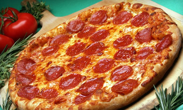 Potomac Pizza - Multiple Locations: $10 for One Large Two-Topping Pizza at Potomac Pizza ($19.97 Value). Four Locations Available.