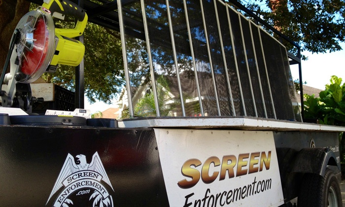 Screen Enforcement - Orlando: Window-Screen Repair or Replacement for Up to 5 or 10 Windows from Screen Enforcement (Up to 51% Off)