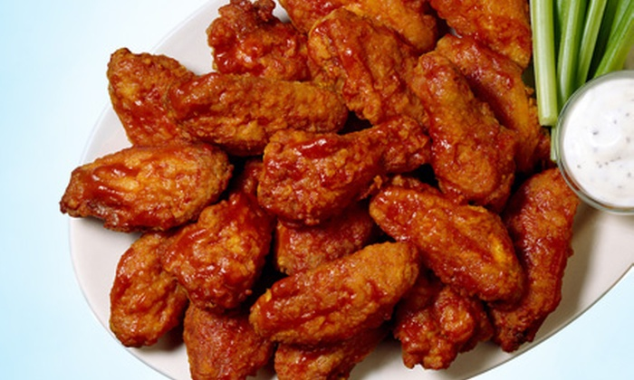 Buffalo Buckets - Valumbrosa: Wings Meal with Fries and Drink for One, Two, or Four at Buffalo Buckets (Up to 51% Off)