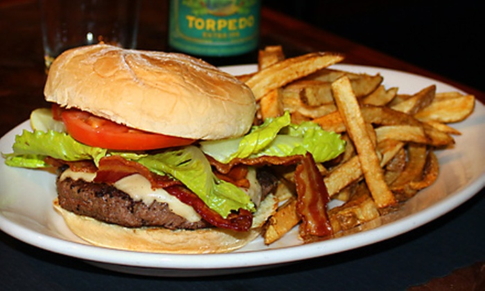 Still Bar and Grill - Agawam Town: Meal for Four or Pub Fare at Still Bar and Grill