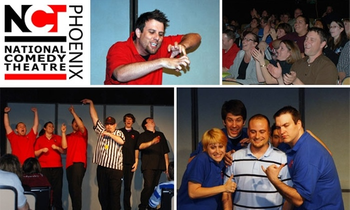 National Comedy Theatre Phoenix - Mesa: $6 for Improv Show at National Comedy Theatre ($12 Value)