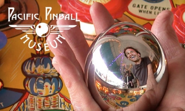 Pacific Pinball Museum - Alameda: $7 for One Adult Admission to the Pacific Pinball Museum in Alameda