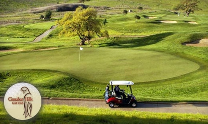 Cinnabar Hills Golf Club - Calero: $90 for 18 Holes of Golf and Cart Rental for Two People (Up to $210 Value) at Cinnabar Hills Golf Club